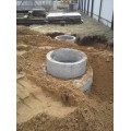 Септик из 4-ех бетонных колец